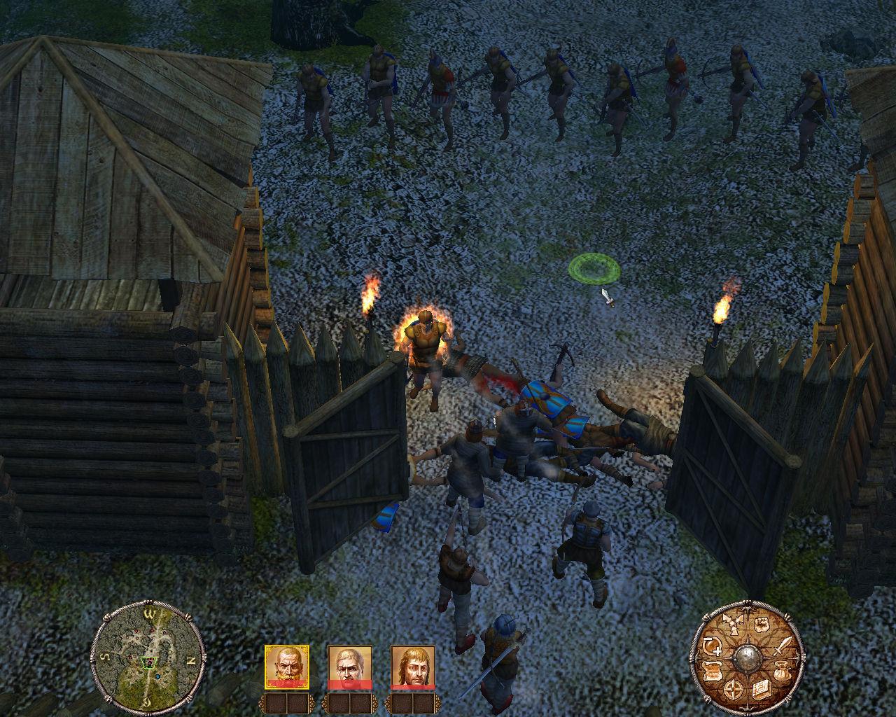 компьютерная игра средневековье